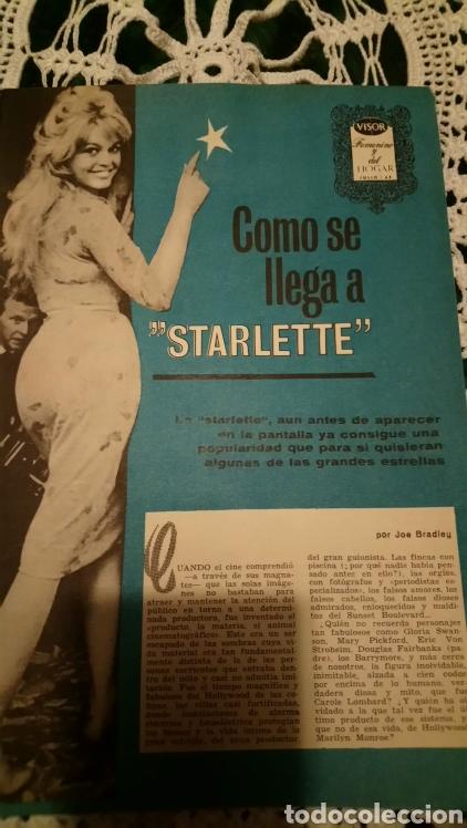 BRIGITTE BARDOT VISOR 1963 (Cine - Revistas - Otros)