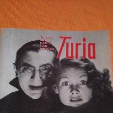 Cine: CARTELERA TURIA BELA LUGOSI. Lote 146621822
