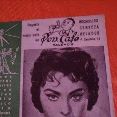 Cine: CARTELERA BAYARRI SOFIA LOREN 1959. Lote 146639573