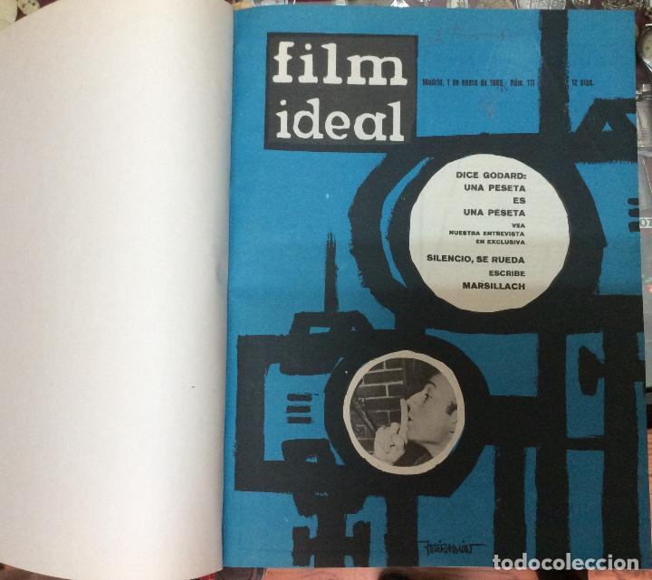 Cine: CINE FILM IDEAL ,REVISTAS ENCUADERNADAS AÑOS 1963 a 1965 Ideal para coleccionistas Profusamente i - Foto 2 - 146645554