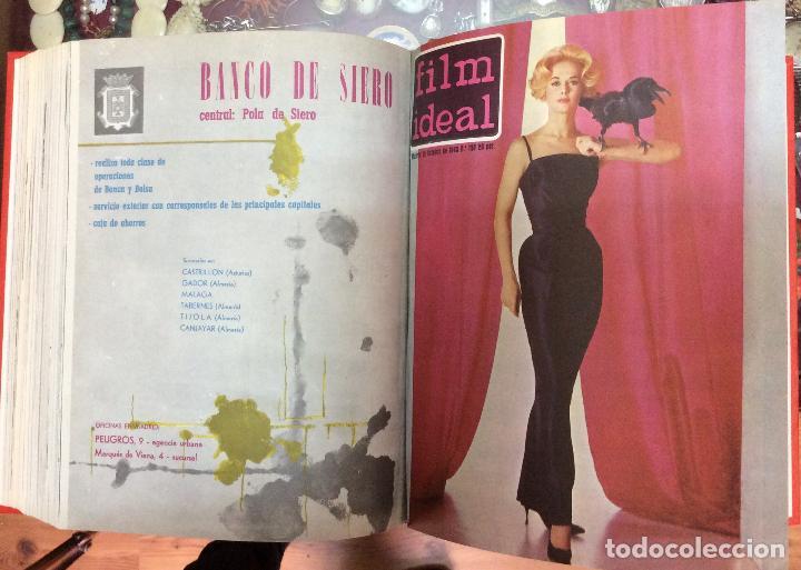 Cine: CINE FILM IDEAL ,REVISTAS ENCUADERNADAS AÑOS 1963 a 1965 Ideal para coleccionistas Profusamente i - Foto 4 - 146645554