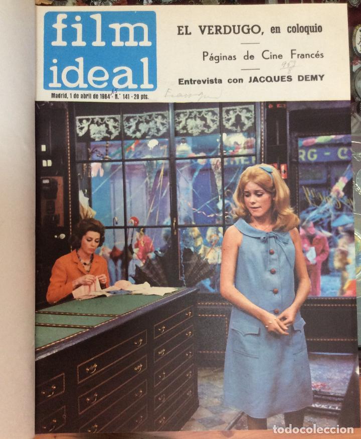 Cine: CINE FILM IDEAL ,REVISTAS ENCUADERNADAS AÑOS 1963 a 1965 Ideal para coleccionistas Profusamente i - Foto 5 - 146645554