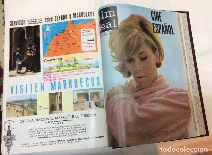 Cine: CINE FILM IDEAL ,REVISTAS ENCUADERNADAS AÑOS 60/61--65/66 Ideal para coleccionistas - Foto 2 - 146645750