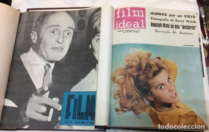 Cine: CINE FILM IDEAL ,REVISTAS ENCUADERNADAS AÑOS 60/61--65/66 Ideal para coleccionistas - Foto 4 - 146645750
