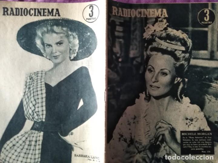 RADIOCINEMA - MICHELLE MORGAN (Cine - Revistas - Radiocinema)