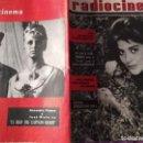 Cine: RADIOCINEMA 1962 CONCHITA BAUTISTA . Lote 146760442