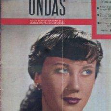 Cine: REVISTA ONDAS Nº 6. NOVIEMBRE 1952. ISABEL CAMPILLO, MAYRA MONTIEL, CELIA DEZA.. Lote 146764470