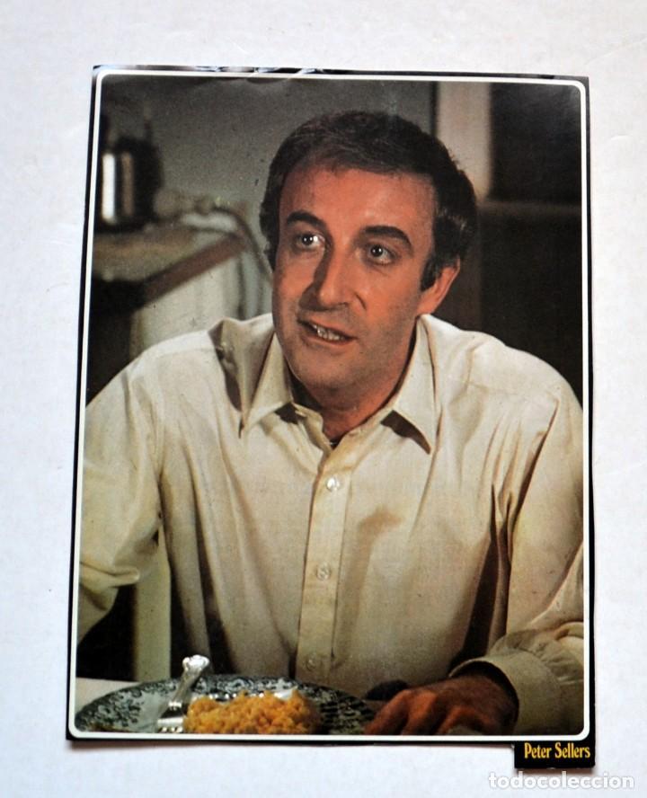 LAMINA DE REVISTA AÑOS 80: PETER SELLERS (Cine - Revistas - Colección ídolos del cine)