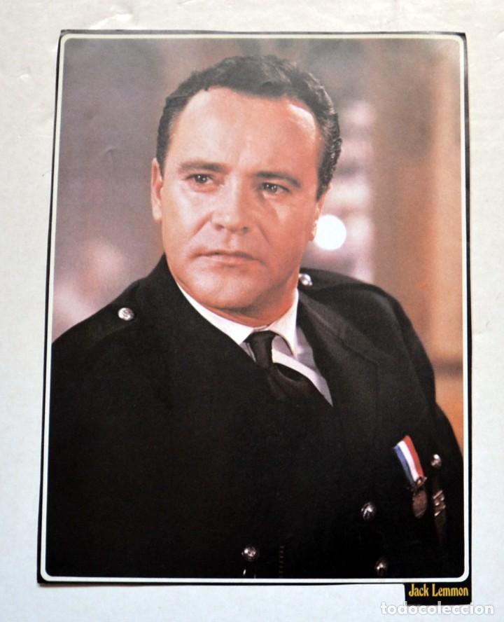LAMINA DE REVISTA AÑOS 80: JACK LEMMON (Cine - Revistas - Colección ídolos del cine)