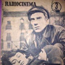 Cinéma: RADIOCINEMA JULITA MARTINEZ Y FERNANDO FERNAN GOMEZ ELVIS PRESLEY 1959 14 DE SEPTIEMBR N 373 . Lote 146796642