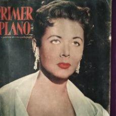 Cine: PRIMER PLANO CORNELL BORCHERS EN PORTADA ARTICULO SARA MONTIEL EN MADRID 2 DE JUNIO 1957. Lote 146801394