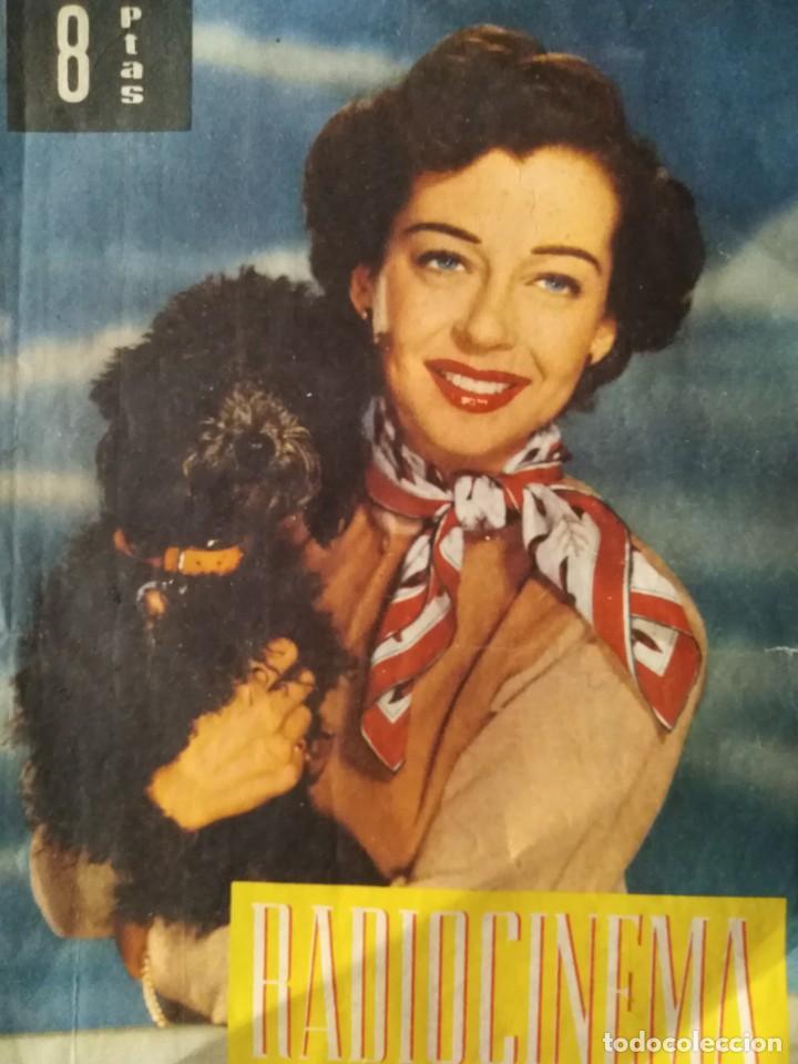RADIOCINEMA 1959 JULIO 4 SABADO PARTE POSTERIOR AUDREY HEPBURN EN HISTORIA DE UNA MONJA (Cine - Revistas - Radiocinema)