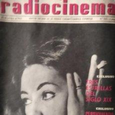 Cine: RADIOCINEMA 25 DE OCTUBRE DE 1962 N 553 DEBORAH KERR LUCIA BOSE PORTADA AMALIA GADE . Lote 146802758