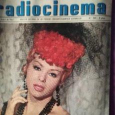Cine: RADIOCINEMA MARUJA DIAZ 24 DE ENERO DE 1963 N 566. Lote 146803086
