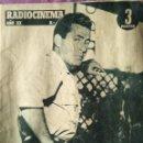 Cine: RADIOCINEMA AÑO XX JAVIER ARMET 1958 NOVIEMBRE 29 SABADO. Lote 146803906