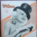 Cine: REVISTA FILMS SELECTOS Nº 156 AÑO 1933. Lote 153109754