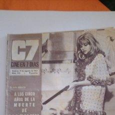 Cine: MARILYN MONROE 1967. Lote 146873702