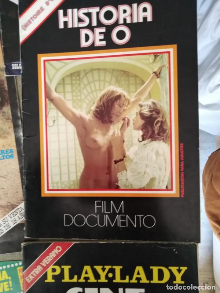 Cine: lote revista cine erotico 70-80 film super cine-film sex sexy cine sexy gang cine sex color 13 rev - Foto 2 - 146911018