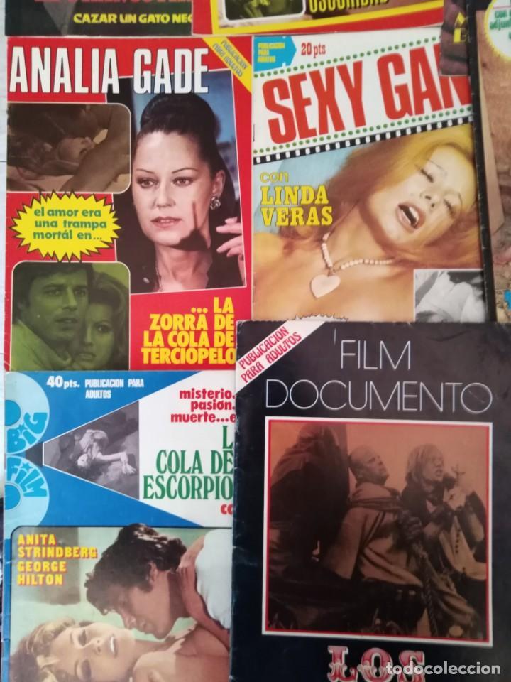 Cine: lote revista cine erotico 70-80 film super cine-film sex sexy cine sexy gang cine sex color 13 rev - Foto 3 - 146911018