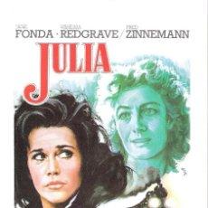 Cine: JULIA (JANE FONDA) PROGRAMA DE MANO MODERNO NO ORIGINAL. Lote 146922574