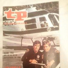 Cine: TP TELEPROGRAMA N 755 -DEL 22 AL 28 SEPTIEMBRE 1980 - PATRULLA ESPECIAL . Lote 146957954