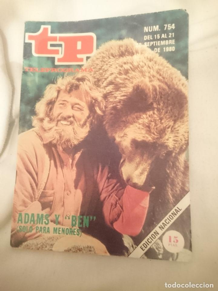 TP TELEPROGRAMA N 754 -DEL 15 AL 21 SEPTIEMBRE 1980 - ADAMS Y BEN - SOLO PARA MENORES (Cine - Revistas - Otros)