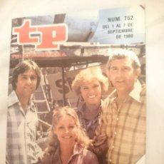 Cine: TP TELEPROGRAMA N 752 -DEL 1 AL 7 SEPTIEMBRE 1980 - CODIGO RESCATE. Lote 146958106