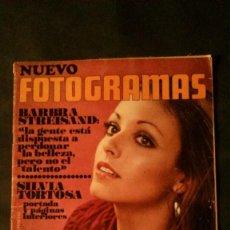 Cine: FOTOGRAMAS Nº 1163-1971-SILVIA TORTOSA-MEDIAS-TINA AUMONT-JULIO IGLESIAS-ISABEL PREYSLER-LA TRINCA. Lote 147081498