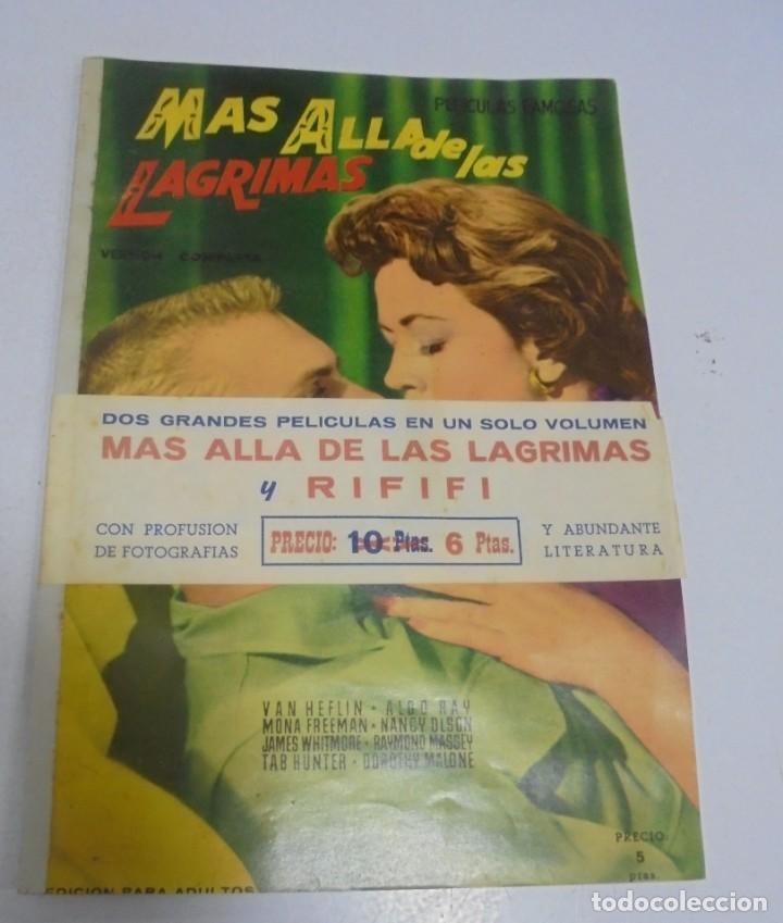 COLECCION GRANDES PELICULAS. MAS ALLA DE LAS LAGRIMAS Y RIFIFI. VERSION COMPLETA. CON CINTA (Cine - Revistas - Colección grandes películas)