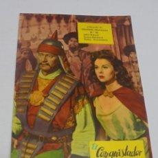 Cine: COLECCION GRANDES PELICULAS. EL CONQUISTADOR DE MONGOLIA. VERSION COMPLETA. VER INTERIOR. Lote 147141314