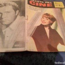 Cine: GACETA DEL CINE Nº 16 / 20 DE MAYO DE 1960 / PORTADA SHIRLEY MAC LAINE. Lote 147188770