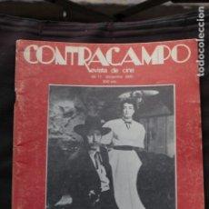 Cinéma: CONTRACAMPO, NÚM. (17), DICIEMBRE 1980.. Lote 147203678