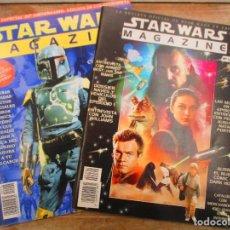 Cine: STAR WARS MAGAZINE - REVISTA OFICIAL - NUMEROS 1 Y 2 . Lote 147213726
