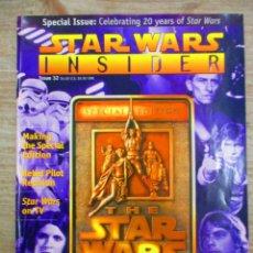 Cine: STAR WARS INSIDER - Nº 32 - EDICION ESPECIAL STAR WARS TRILOGIA . Lote 147216174