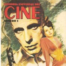 Cine: HISTORIA UNIVERSAL DEL CINE. FASCÍCULO. Nº 1. PLANETA.(B/A60). Lote 147375850