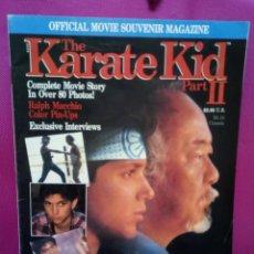 Cine: REVISTA OFICIAL KARATE KID AÑO 1986. Lote 147489242