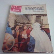 Cine: REVISTA FILM IDEAL N-183.AÑO 1966. Lote 147565546