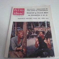 Cine: REVISTA FILM IDEAL N-185.AÑO 1966. Lote 147566206
