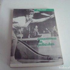 Cine: FILM IDEAL.ESQUEMAS DE PELICULAS.VOLUMEN XXI. Lote 147567990
