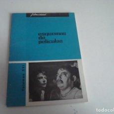 Cine: FILM IDEAL.ESQUEMAS DE PELICULAS.VOLUMEN XVI. Lote 147568090