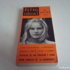 Cine: FILM IDEAL.LIBRO ,TOMO.CRITICAS Y DOCUMENTACION.N-214-215. Lote 147568258