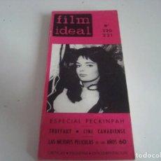 Cine: FILM IDEAL.LIBRO-TOMO.N-220-221. Lote 147568634