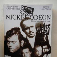 Cine: NICKELODEON Nº 16 - OTOÑO 1999 - 400 PAG. IMPECABLE - VER FOTOS ADICIONALES. Lote 147611982