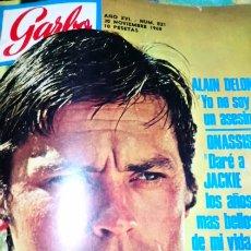 Cine: ALAIN DELON 1968 GARBO. Lote 147614486