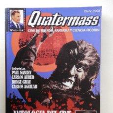 Cine: QUATERMASS - REVISTA CINE DE TERROR - Nº 4/5 - ANT. CINE FANTAST. Y TERROR ESPAÑOL - VER FOTOS. Lote 147615358