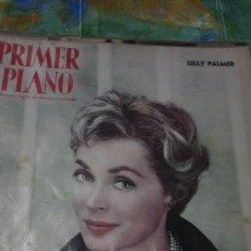 Cine: PRIMER PLANO LILLY PALMER. Lote 147633761