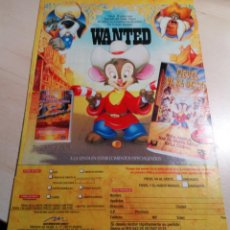 Cine: FIEVEL.WANTED.. Lote 147691034