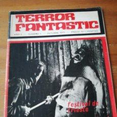 Cine: REVISTA TERROR FANTASTIC NÚMERO 1. 1971.. Lote 147836490