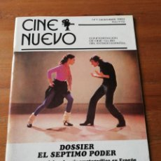 Cine: REVISTA CINE NUEVO. NÚMERO 1. 1983.. Lote 147838778