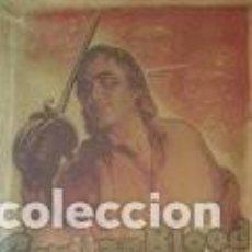 Cine: ANTIGUO CARTEL DE TELA CAPITAN BLOOD-FIRMADO POR L. MARTINATI-1935 ..LEER. Lote 147840874